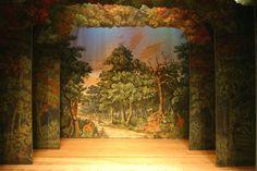 theatrical backdrops - Google Search