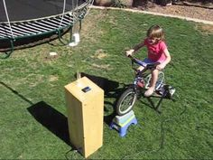 Pedal Power Bicycle Generator