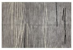 Lake Rug, Platinum/Ivory on OneKingsLane.com $899 for 8.6 X 11.6