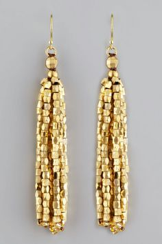 Nakamol Faceted Fringe Earrings, $48, available at Neiman Marcus.