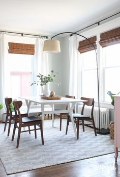 Since I Work From Home Have A Large E Dedicated To My Office However Wanted It Feel Like So Used Dining Table Instead Of