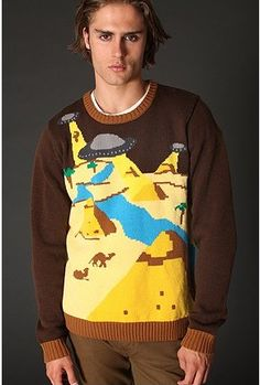 Possibly the best novelty sweater I have EVER SEEN