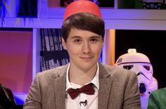 Dan Howell. lol he kind of looks like grunkle stan