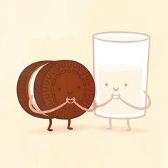 Oreo and Milk!