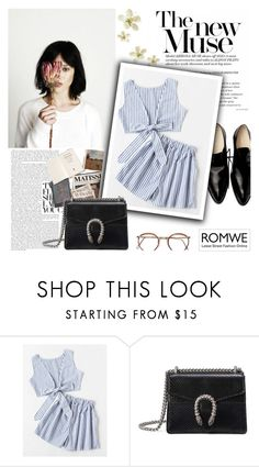 """""""blue"""" by amadahy ❤ liked on Polyvore featuring Gucci"""