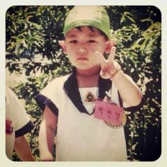 cute kid chanyeol'-'