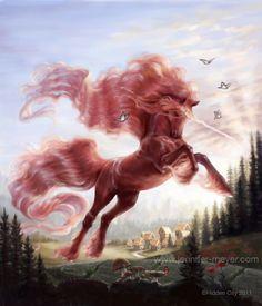Farah from Bella Sara #Cover #CardArt #unicorn