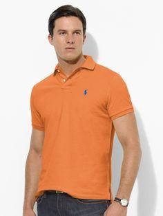 Classic-Fit Mesh Polo - Polo Ralph Lauren Classic-Fit - RalphLauren.com