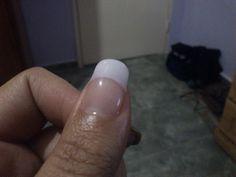 Mi primer uña hecha con gel :D