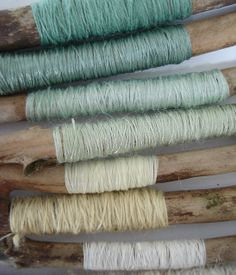 Inspiration for a color palette can come from many sources, like these fibers. Colour Schemes, Color Combos, Duck Egg Blue, Colour Board, Colour Colour, Color Stories, My New Room, Color Pallets, Color Inspiration