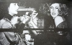 Ultra Violet and Candy Darling. Photo by Frank Teti / Neal Peters Collection. Holly Woodlawn, Candy Darling, Midnight Cowboy, Chelsea Girls, Paint Photography, How To Look Handsome, Androgyny, Ultra Violet, Looking For Women