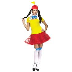 State-of-the-art Womens Tweedle Dee Tweedle Dum Costume. Marvelous Collection of Alice in Wonderland Costumes for Halloween at PartyBell. Sexy Halloween Costumes, Halloween Dress, Spirit Halloween, Twin Halloween, Halloween Party, Women Halloween, Disney Halloween, Halloween 2017, Easy Halloween