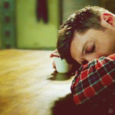 "The ""my little random moments of pleasure"" series - Sleepy!hangover!dean N°2 - SN:12x17"