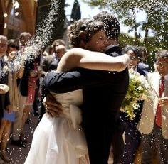 Country Wedding in Verona   GuastiniStyle www.guastinistyle.com #uscitasposi #conettiriso #riso