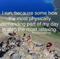 Runner's high = amazing
