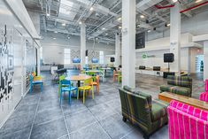 The Wonderfully Designed Offices of Spotify in New York City | Officelovin