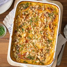 The Best Cheesy Scalloped Potatoes Recipe -Here's my tried-and-true version of scalloped potatoes. I slice them extra thin and toss them in a rich, creamy cheese sauce. Then, to make them the best ever, I sprinkle homemade bread crumbs on top that get nice and crispy in the oven. Make room for these at all your family get-togethers. —Aria Thornton, Taste of Home Prep Cook