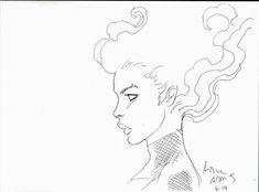 ARTHUR ADAMS JEAN GREY PHOENIX  Comic Art