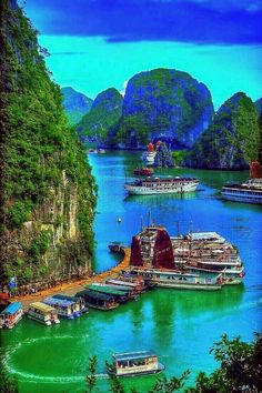 Discover the most beautiful places in the world, travel tips and destination informations Places To Travel, Places To See, Beautiful Places In The World, Vietnam Travel, Nature Pictures, Amazing Nature, Travel Around The World, Vacation Spots, Beautiful Landscapes