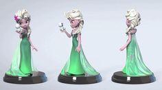 Cancelled #FrozenFever #Elsa #DisneyInfinity Premium Format Design Revealed