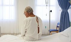 J An elderly patient awaits treatment. 'Nothing prepares you for being the daughter of ageing parents.' Photograph: Barry Diomede/Alamyackie Kay column