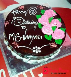 HappieReturns Todays Special Flavor Choco Delicacy Cake Code For Orders Enquiries Please Call Whatsapp Birthday Delivery In Chennai