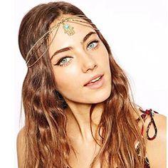 Yazilind Damen Hübsche Goldlegierung Türkis Handform Drop-Haarband Kopfschmuck Kopfschmuck - See more at: http://schonheit.florentt.com/beauty/yazilind-damen-hbsche-goldlegierung-trkis-handform-drophaarband-kopfschmuck-kopfschmuck-de/#sthash.za5B4FUm.dpuf