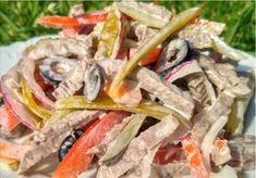 Салат получается очень вкусным, легким и сочным.