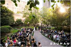 Love this amazing urban garden location in downtown LA.   Cafe Pinot Wedding, Photography by Bauman Photographers  View More:  http://baumanphotographers.com/blog/weddings/2015/06/cafe-pinot-wedding-los-angeles-ca/