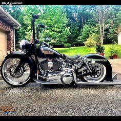 "▷ Harley Davidson Screamin Eagle ""RSR"" by Thunderbike Harley Softail, Harley Bobber, Harley Bikes, Harley Davidson Motorcycles, Motos Bobber, Bobber Bikes, Bobber Motorcycle, Motorcycle Garage, Bobbers"