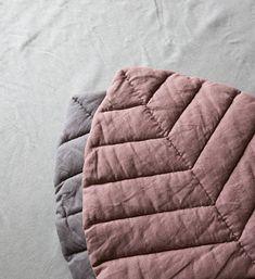 Nursery mat leaf playmat linen baby cover rug floor pouf blanket dusty pink girl mat padded linen pillow cushion gift for newborn