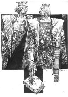 Sergio Toppi, Longobardi Comic Art