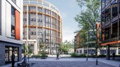 Our Halo office development in Bristol City Centre. BREEAM Outstanding, WiredScore Platinum. Healthy, sustainable workspace for over 1000 people Bristol City Centre, Halo, Multi Story Building, Civil Engineering, Pisa, Civilization, Aurora, Sustainability, Maine