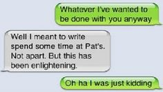 Funny Text Message Breakups 1 49 25 Brutal yet Funny Break Up Texts Funny Breakup Texts, Breakup Humor, Sad Breakup, Funny Texts Crush, Funny Text Fails, Flirting Quotes, Break Up Text Messages, Break Up Texts, Funny Text Messages