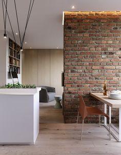 Amazing Home Stone Interior Design - Decoration Loft Interior, Brick Interior, Interior Styling, Interior Architecture, Interior Decorating, Loft Design, Deco Design, Design Case, Cheap Apartment
