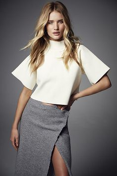 Rosie Hungtington-Whitely | Minimal + Chic | @CO DE + / F_ORM