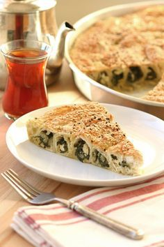 An egg and dairy-free version of a Turkish cuisine favourite, this Vegan Spinach and Cheese Börek recipe is just as delicious as the original.