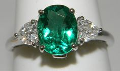 Awesome Emerald and Diamond Ring