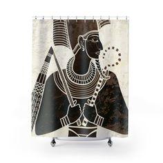Voici ce que je viens d Sphynx, Sculptures, Curtains, Shower, Etsy, Prints, Rain Shower Heads, Blinds, Sphynx Cat