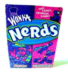Nerds Candy...it's my go too thing while on the sideline waiting to run a race.