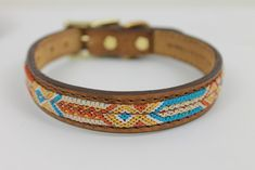 Seiba handcrafted dog collars are hand-woven by indigenous artisans in Southern Mexico and and finished by leather craftsmen in the USA. Beaded Dog Collar, Custom Dog Collars, Dog Training Tips, Dog Care, Craftsman, Hand Weaving, Southern, Artisan, Mexico