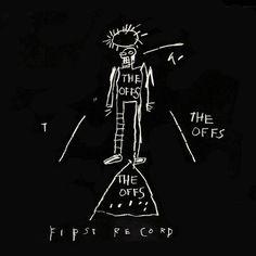 Jean Michel Basquiat Vinyl Record Cover on Etsy, $120.00