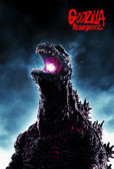 Godzilla: Resurgence (2016) - Poster 1 by CAMW1N on DeviantArt