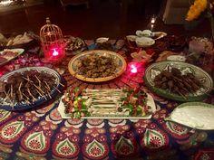 Moroccan Nights Buffet 2016- Za'Atar Chicken, Beef & Lamb