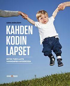 Kuvaus: Suomessa avioeroissa syntyy joka vuosi 30 000 uutta erolasta ja -nuorta. Jokainen lapsi on yksilö, eikä kukaan syvimmiltään voi tietää ennalta, miten lapsi elää, kokee ja tuntee vanhempiensa eron. Aikuisten vastuu lapsen tukemiseen hänen ikäkautensa ja yksilöllisten ominaisuuksien perusteella on suuri: ilman tukea lasta ei saa jättää. Kahden kodin lapset -kirja on Leena Mäkijärven yli 20 vuotta jatkuneen eroperheiden lasten ja nuorten auttamistyön myötä syntynyt teos