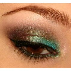 green-and-bronze