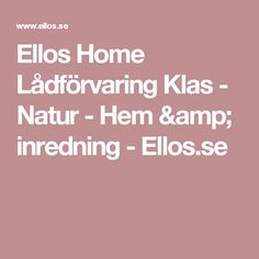 Ellos Home Lådförvaring Klas - Natur - Hem & inredning - Ellos.se