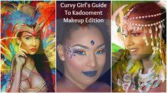 The Curvy Girl's Guide to Kadooment Makeup Edition http://www.bigbeautifulblackgirls.com/curvy-girls-guide-kadooment-part-2/ #cropover #kadooment #barbados