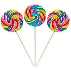 Large Rainbow Swirl Lollipops 12 Pk Party Supplies Canada - Open A Party Rainbow Lollipops, Swirl Lollipops, Giant Lollipops, Rainbow Treats, Bonbon Caramel, Popular Candy, Candy Buffet Tables, Flying With Kids, Lollipop Candy
