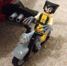 #wolverine #lego #biker